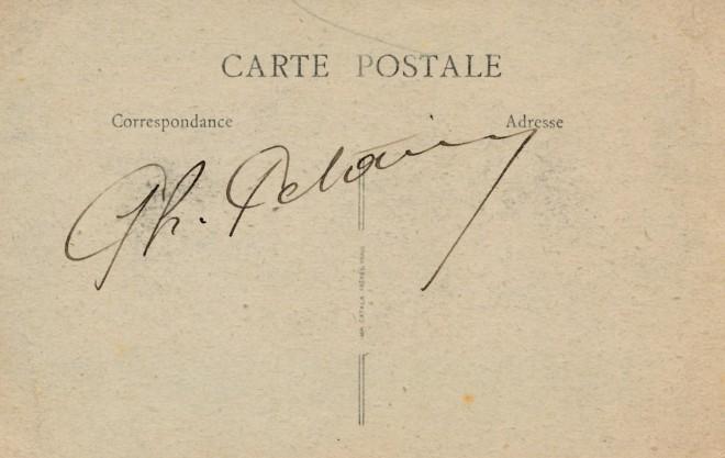 Maréchal Pétain autographe